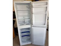 White Hotpoint Iced Diamond Fridge Freezer (RFAA52) For Sale. Immaculate condition.