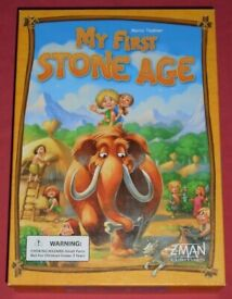 'My First Stone Age' Board Game