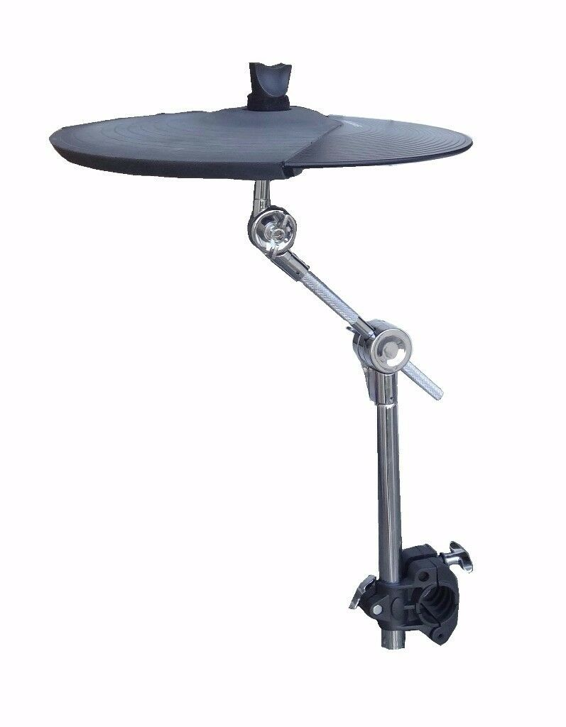 alesis dm pad 14 3 zone ride cymbal chokable electronic drum multi zone pad w stand and clamp. Black Bedroom Furniture Sets. Home Design Ideas