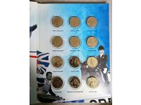 BP Olympics Legends Collection - All 12 Coins + Folder - 'Our Greatest Team' VGC