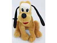 """8"""" Pluto Beanie Soft Toy By Disney"""