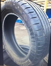 205 55 17 continental Eco5 part worn used tyre 7.2mm 95V
