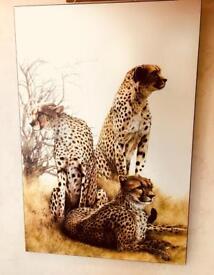 Athena Block Print Cheetahs Large 80's