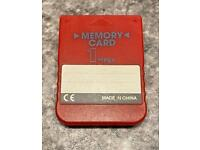 PlayStation 1 memory card