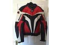 Spyke Men's Motorbike Jacket Size 52