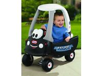 Little Tikes Police Car Cozy Coupe Ride-on