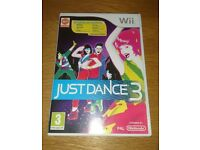 Nintendo Wii Game Just Dance 3 As New Condition
