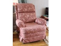 PARKER KNOLL RECLINER ARMCHAIR - Really comfy and easy to recline.