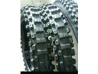 "Motocross mx motorcycle tyres. New 19"" rear & 21"" front"