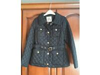 Womens new look quilted jacket