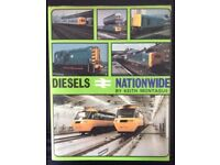 RAILWAY BOOK. DIESELS NATIONWIDE BY KEITH MONTAGUE FOR SALE