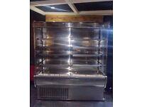 OPen ChillerStainless steel open chiller, Ice CReam Display, Panini Machine, Drain Pumps