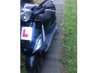 Swap 100cc piaggio moped/scooter has mot