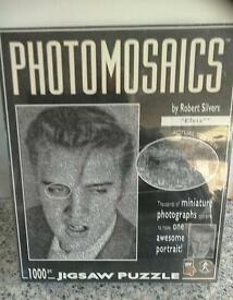 Elvis Presley photomosaic jigsaw