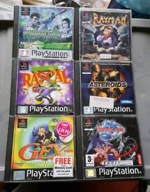 Bundle Of PS1 Games.
