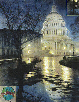 Cross Stitch Kit ~ Candamar Capital Building Washington DC Liberty #51426