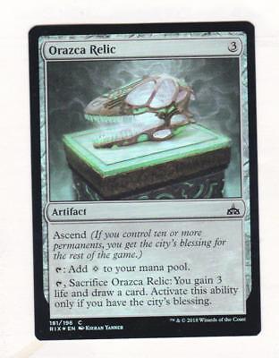 Magic: MTG: Rivals of Ixalan: Foil: Orazca Relic