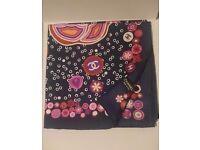 CHANEL luxury silk scarf - brand new