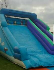 Large bouncy slide