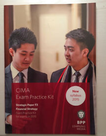 CIMA F3 Financial Strategy- Exam Practice Kit by BPP