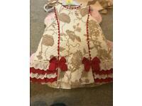 Miranda Spanish dress age 4