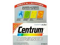 Centrum Advance vitamins