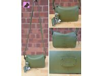 RADLEY - Small 'Maiden' Olive Green Leather Shoulder/Crossbody Bag *NEW - RRP £139*