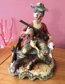 The Gamekeeper Capodimonte Figurine