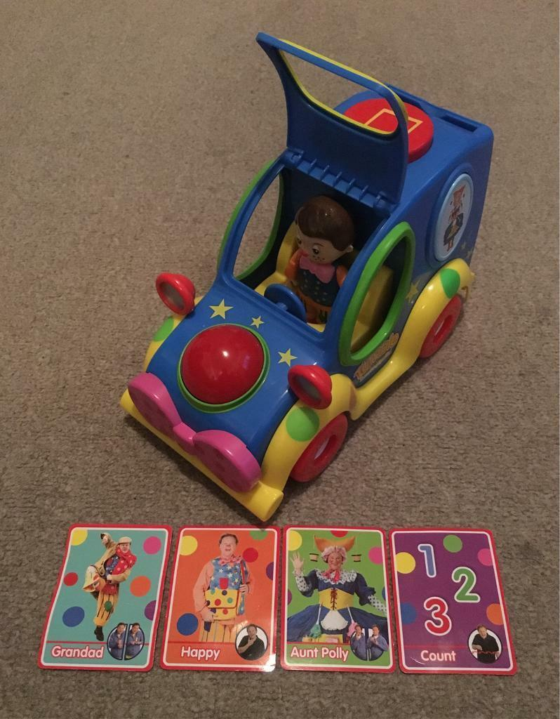 SOLD Mr Tumble Something Special Spotty Car