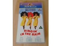 Singin' in the Rain (1952) Special edition Rare VHS
