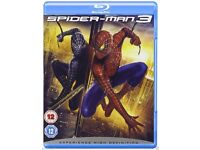 Spider-Man / Spiderman 3 Blu-ray Region