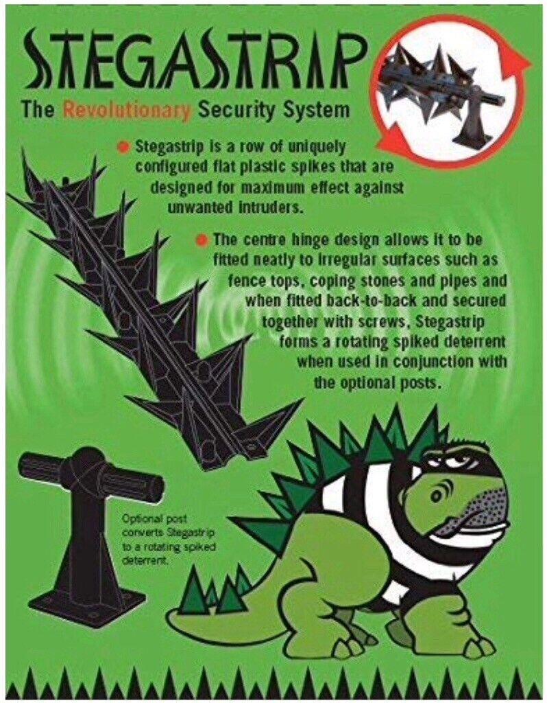 Garden Fence Spikes Home Security Anti Climb Burglar Deterrent | in  Weston-super-Mare, Somerset | Gumtree