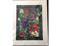 Ltd Edition Giclee Print 46/50 by Victoria Hillary in cellophane