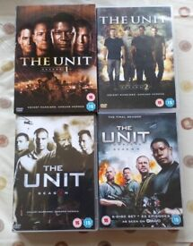 The Unit, Seasons 1 to 4.