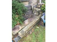 Job lot Yorkshire Stone (Lintels, Flags and Building Stone)