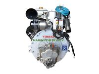 New 46 HP marine engines with gearbox and instrumentpanel € 4.500