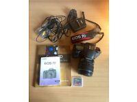 Canon EOS 7D 18.0MP Digital SLR Camera - Black (Kit w/ EF-S 15-85mm IS lens)