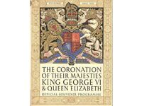 King George coronation official jubilee programme wrapped £5