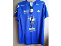 Adidas London Marathon 2015 finisher's shirt. NEW WITH TAGS!