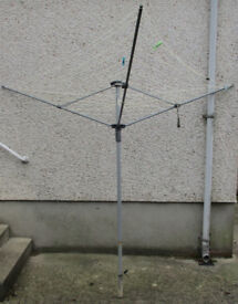 Outdoor Rotary Clothes Line Only £10