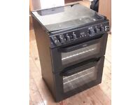 Belling 60cm double oven gas cooker