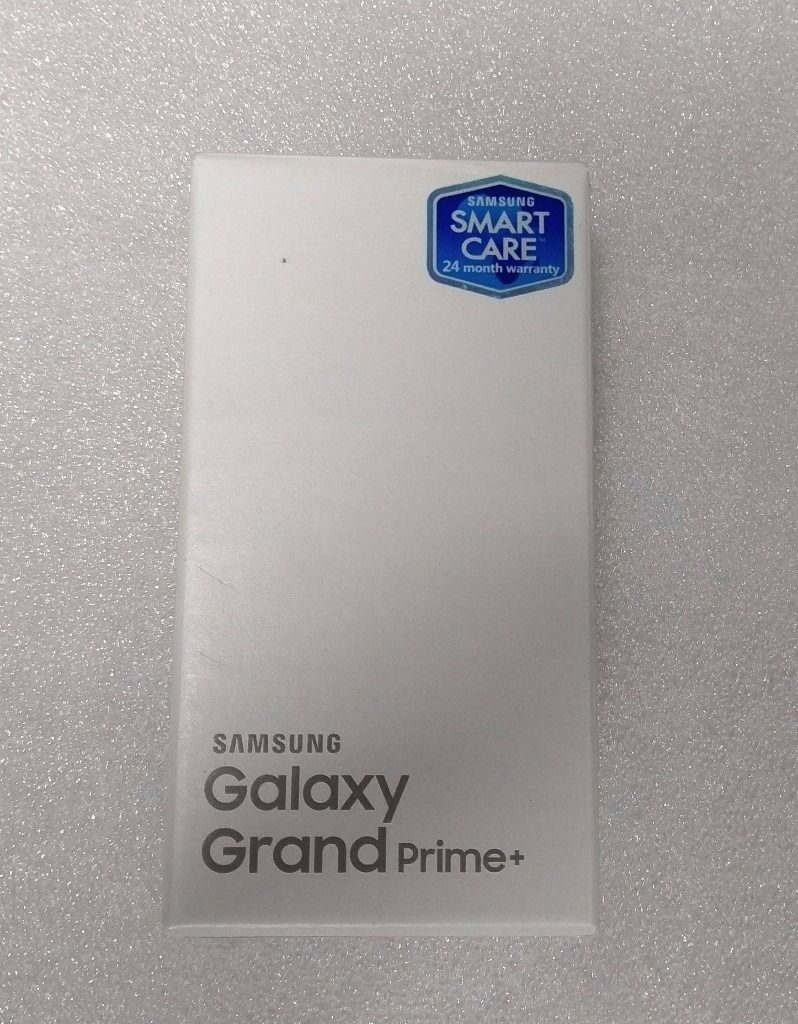 Samsung Grand Prime +, 8GB Brand New, Sealed Pack, 24 Months Samsung Warranty