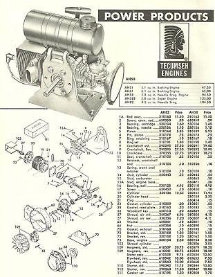 Parts & Accessories - Vintage Tecumseh