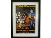 Framed print The Day the Earth Stood Still movie poster