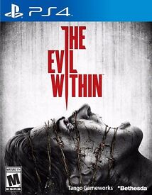 PS4 - THE EVIL WITHIN - NEW - £5 ONLY