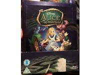 Disney Alice in wonderland steelbook blu ray