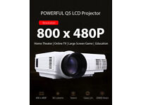 BRAND NEW,Clearness POWERFUL Q5 Quad-core Android 4.4 LCD Projector