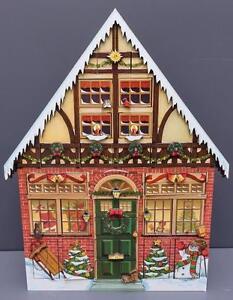 Byers Choice Traditions Christmas House Advent Calendar Box b