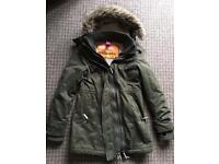 Ladies Superdry Windparka Coat - Size Medium