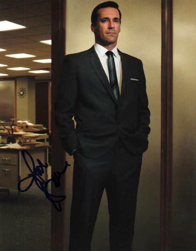 JON HAMM.. Mad Men's Handsome Hunk - SIGNED